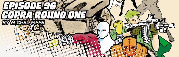 Episode 96: Copra Round One by Michel Fiffe