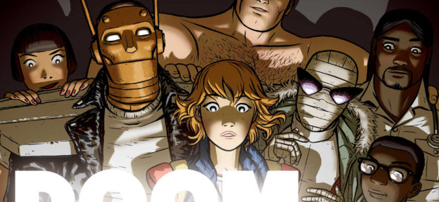 Episode 205: Doom Patrol Vol 1: Brick by Brick by Gerard Way, Nick Derington, and Tamra Bonvillain