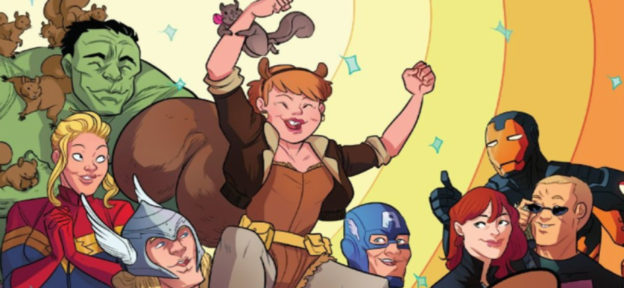 Episode 218: The Unbeatable Squirrel Girl Vol 1-5 by Ryan North and Erica Henderson