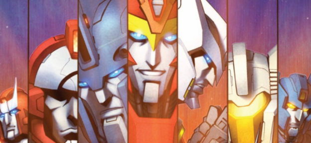Episode 221: Transformers: More Than Meets the Eye Vol 1-5 by James Roberts and Alex Milne