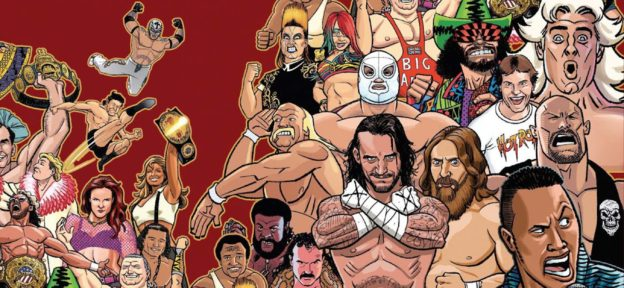Episode 241: The Comic Book Story of Professional Wrestling by Aubrey Sitterson & Chris Moreno
