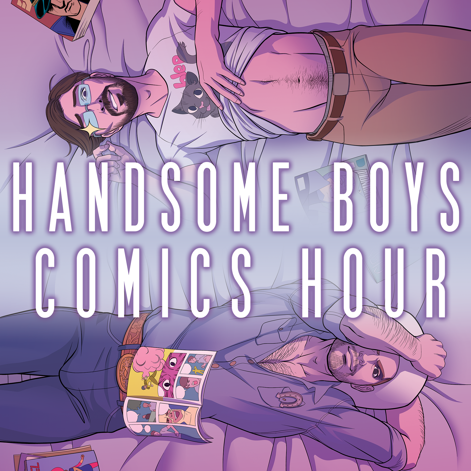 Handsome Boys Comics Hour